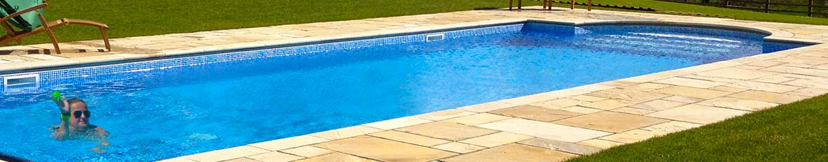 Rent a house with a gated swimming pool