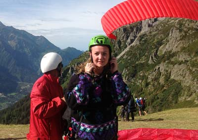 paragliding untimate holiday activity