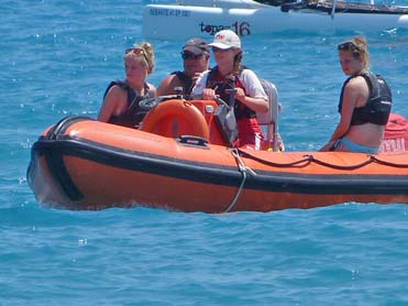 saftey speed boat